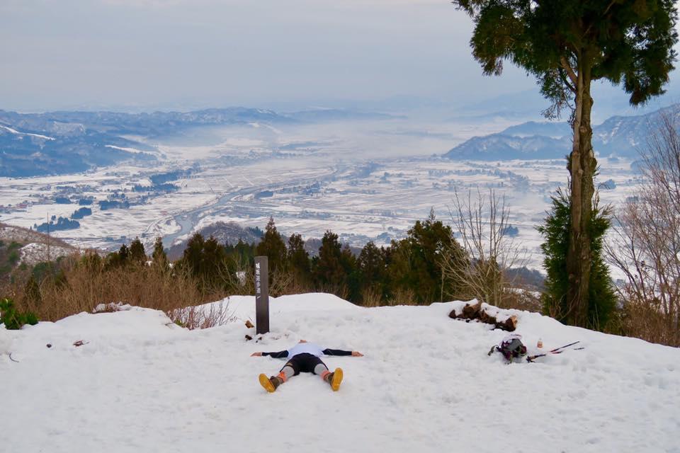 2017.1.2 mon. 坂戸山雲海下山後の、なぞの撮影?? BY UNKAI-MASTER