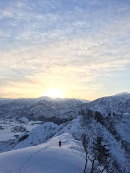 2017.1.29 sun. 冬でも山頂で人に会う BY HUNTER-SHISHIMAI