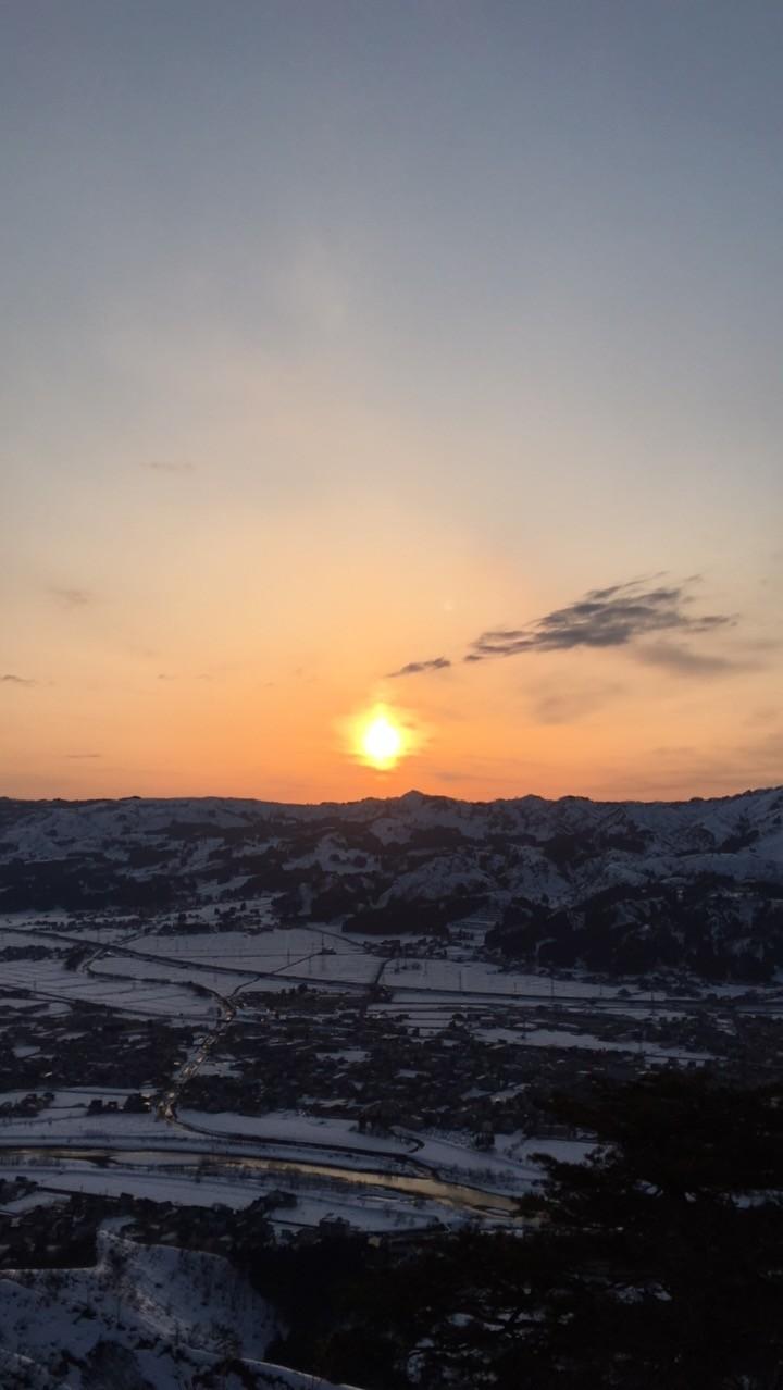 2017.3.25 sat. 夕焼けの坂戸山登山