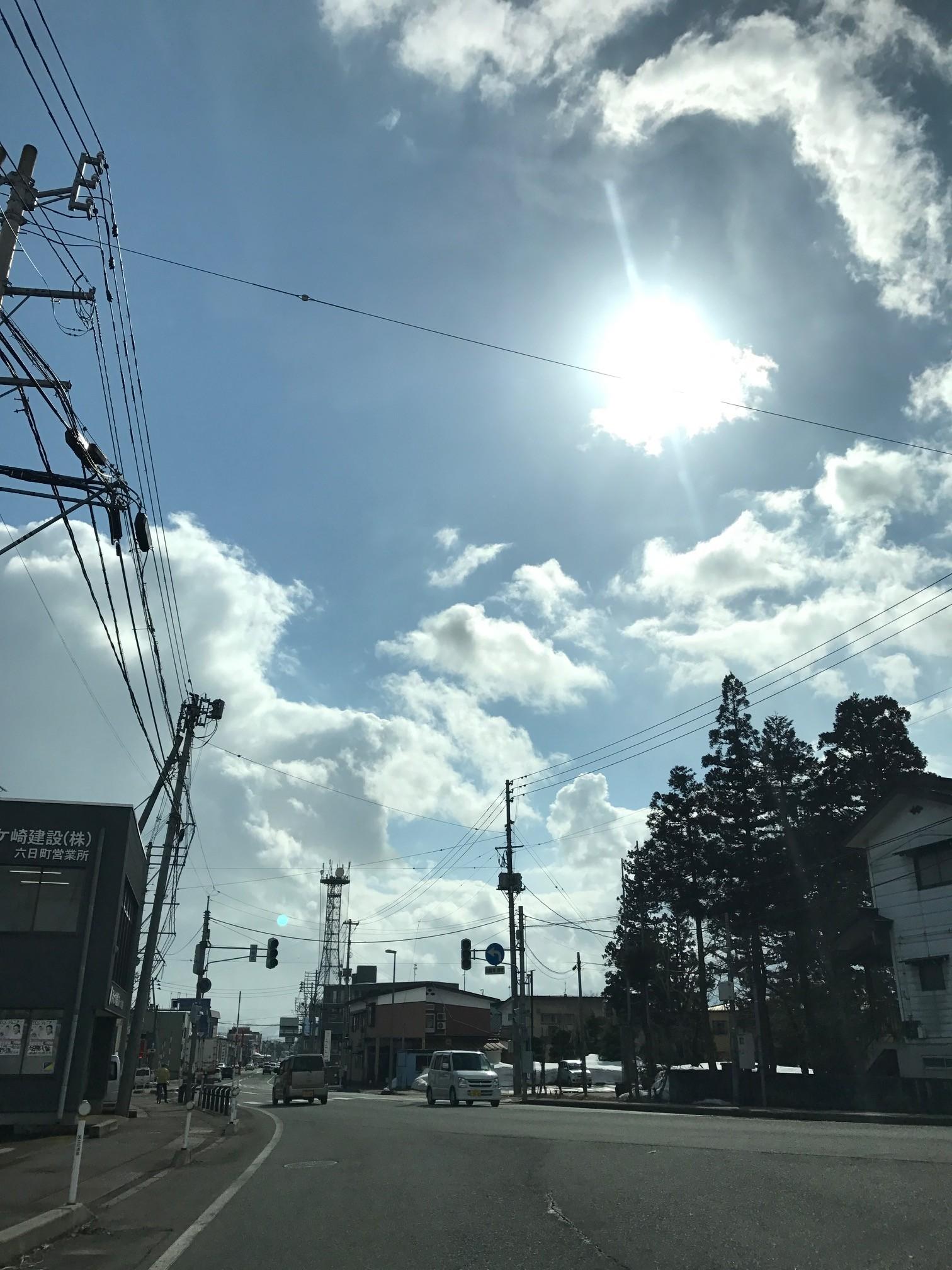 2017.3.16 PM2:33 六日町美佐島交差点