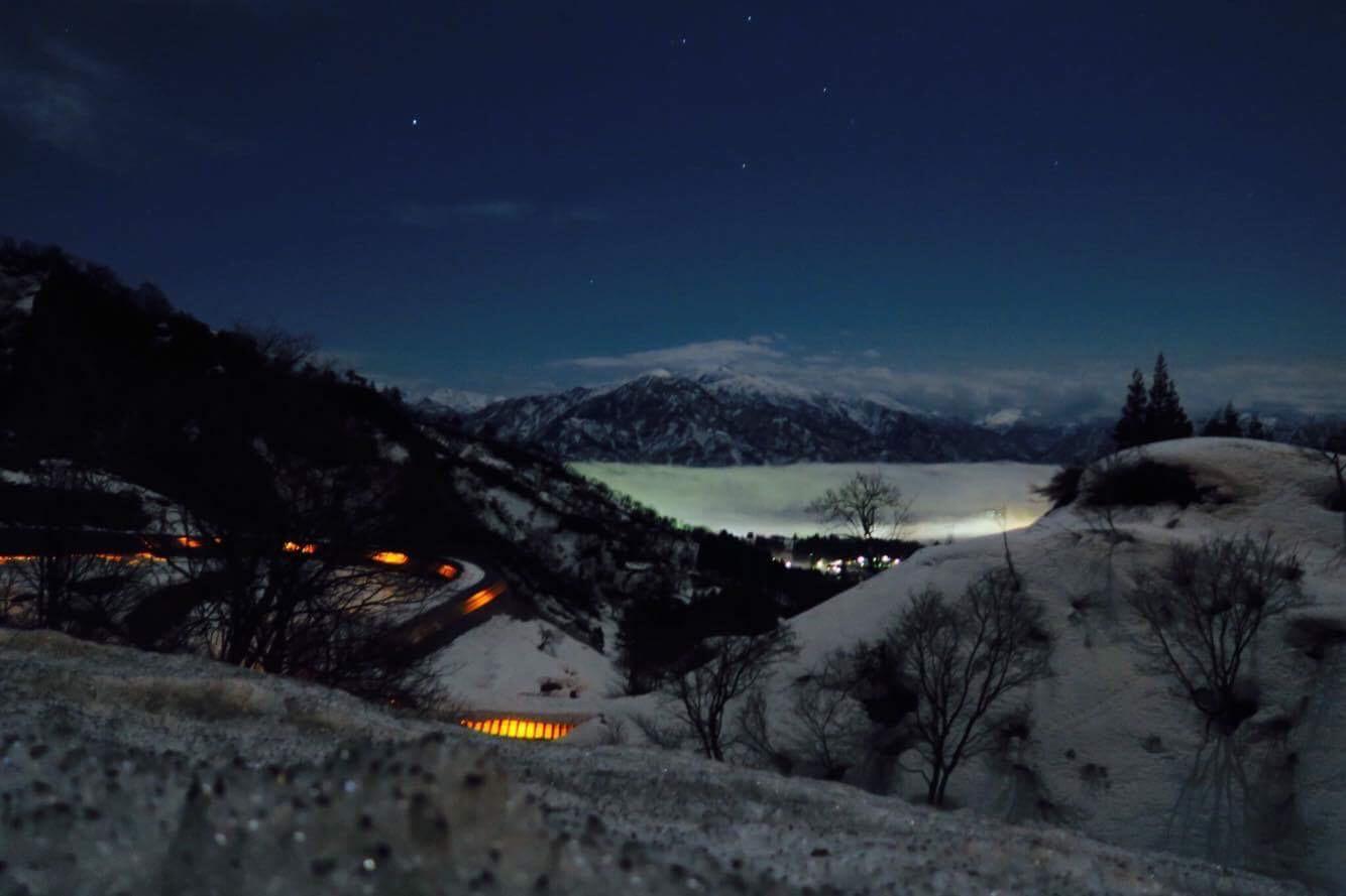 2017.4.7 fri. 幻想的!夜の雲海 BY UNKAI-MASTER