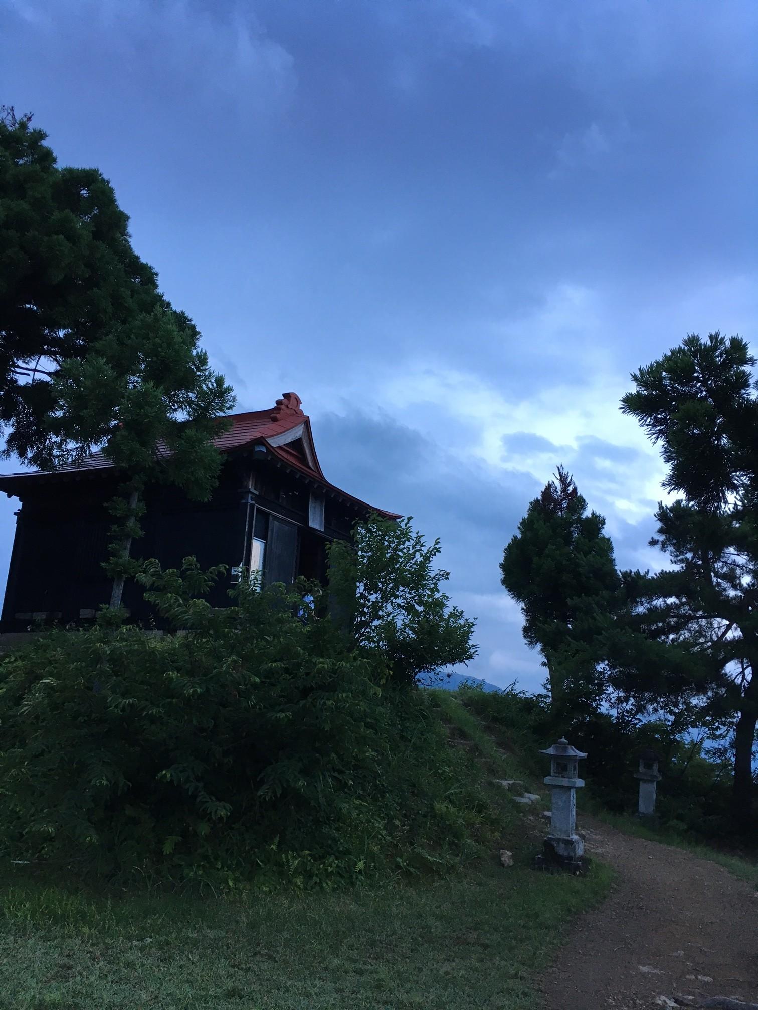 2017.7.18 tue.兼続公祭りな朝の坂戸山 BY HUNTER-SHISHIMAI 南魚沼市