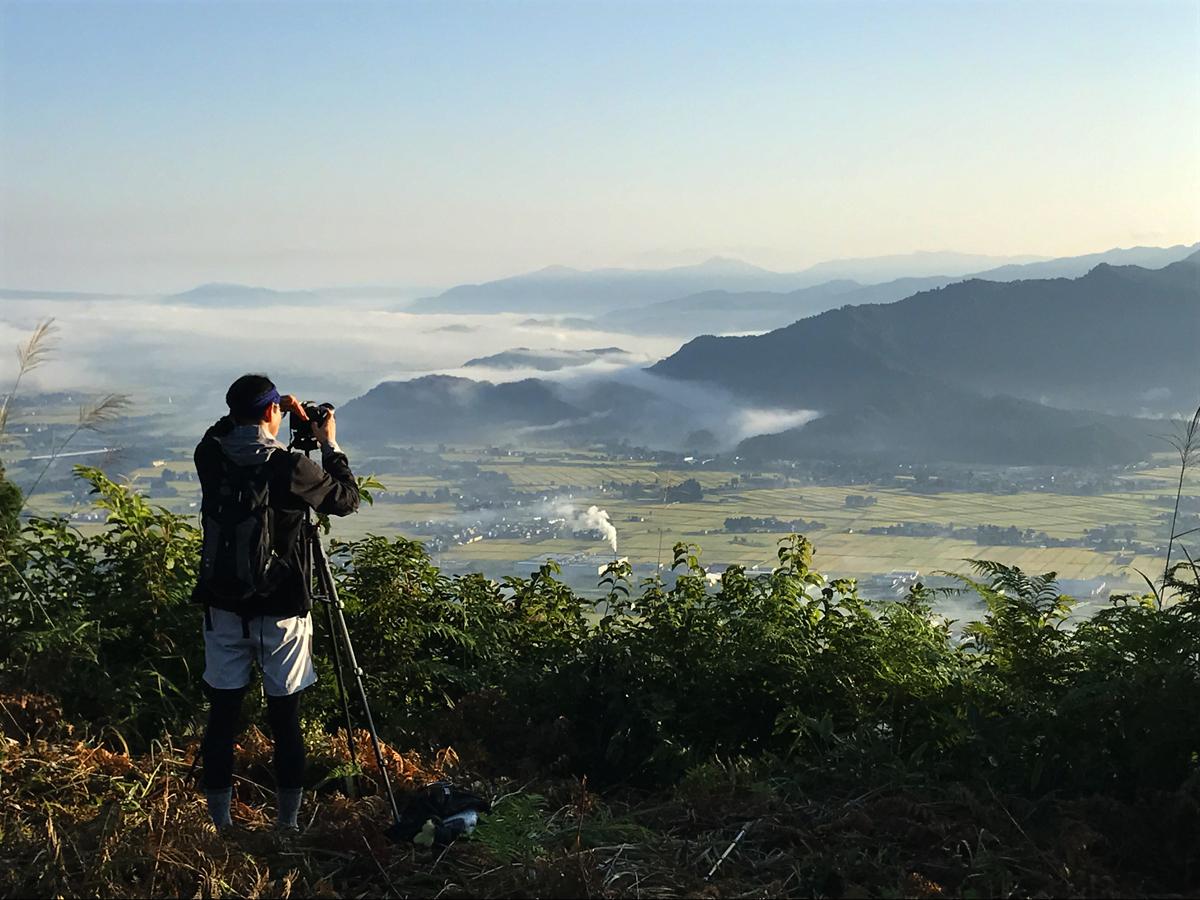 2017.9.9 sat. 坂戸山汗かいて登っての雲海が最高。BY AKANE-DESIGN