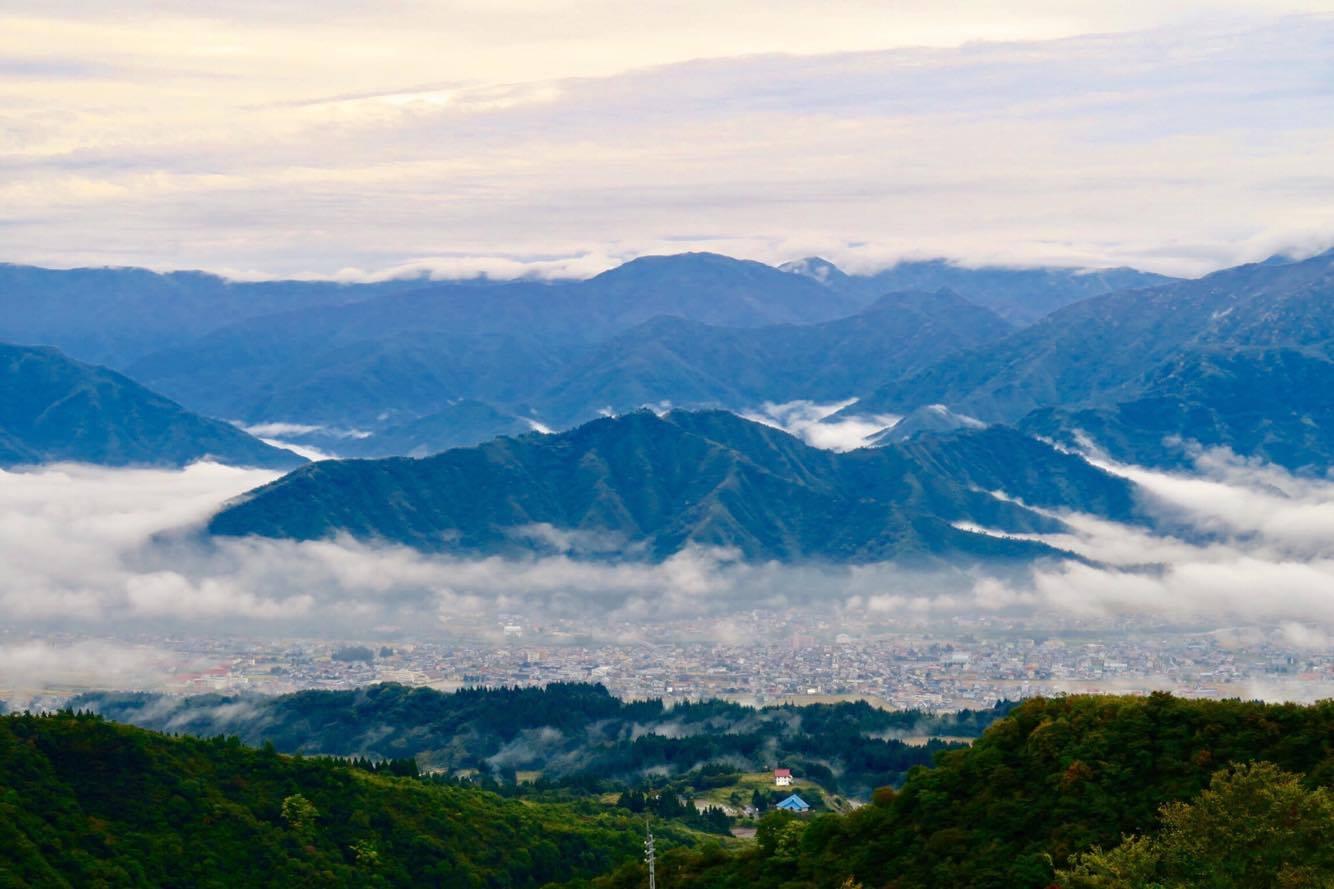 2017.10.17 tue.坂戸山雲海634からの弥彦山634へ BY UNKAI-MASTER