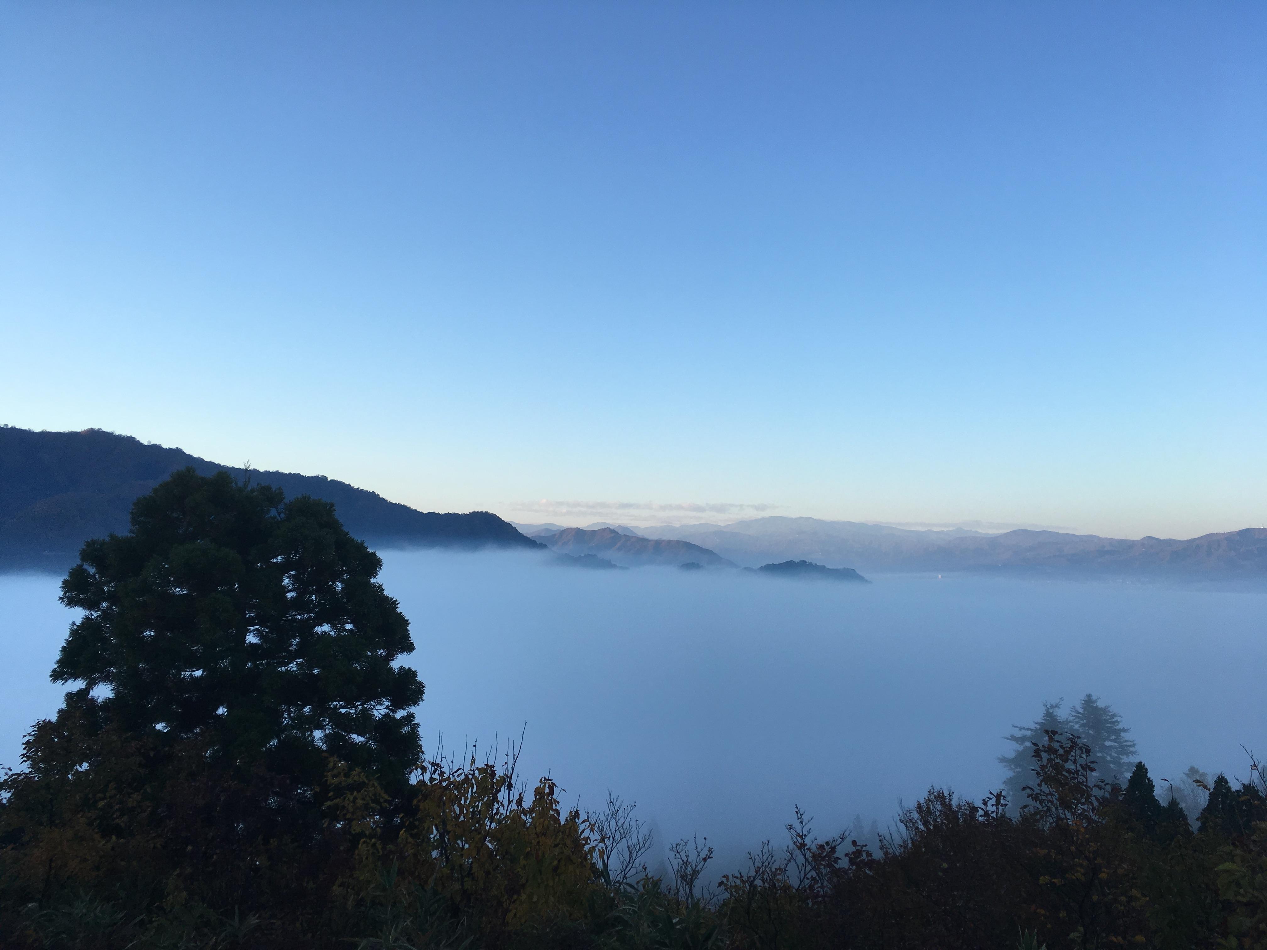 2018.11.04 坊谷山から坂戸山を望む BY HUNTER-SHISHIMAI