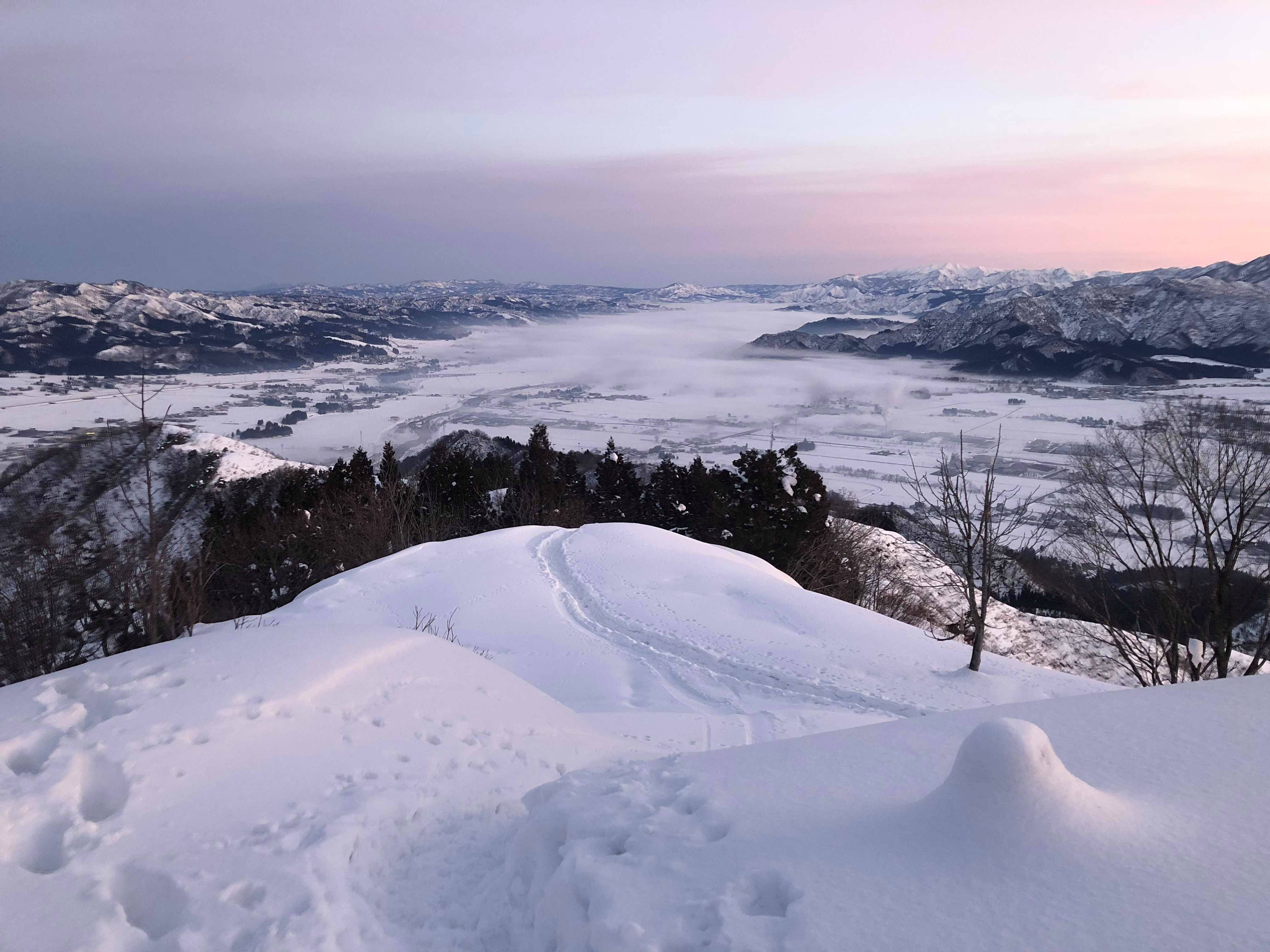 2019.1.15 tue.雪の坂戸山雲海 BY HUNTER-KYUN